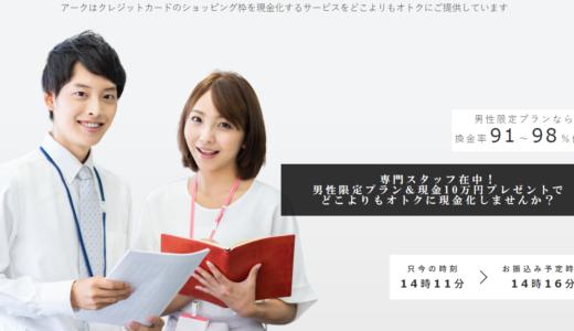 【口コミ・評判】Arrk【クレジットカード現金化】